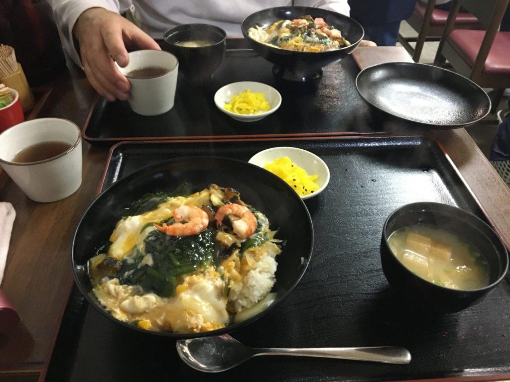 福岡海の中道さざえ丼